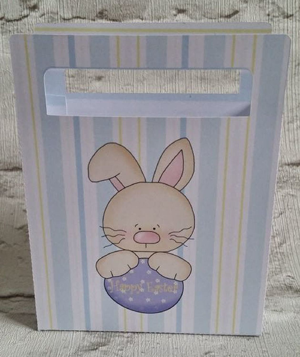 Cute Easter Chocolates Gift Bag  No 6 -  print n cut studio cutting file.