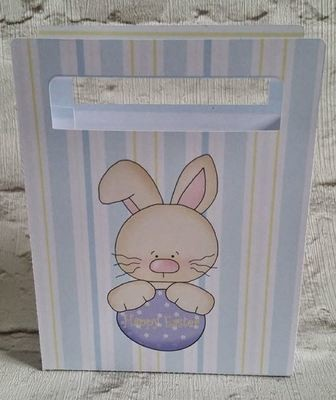 Cute Easter Chocolates Gift Bag  No 6 -  print n cut studio cutting file.