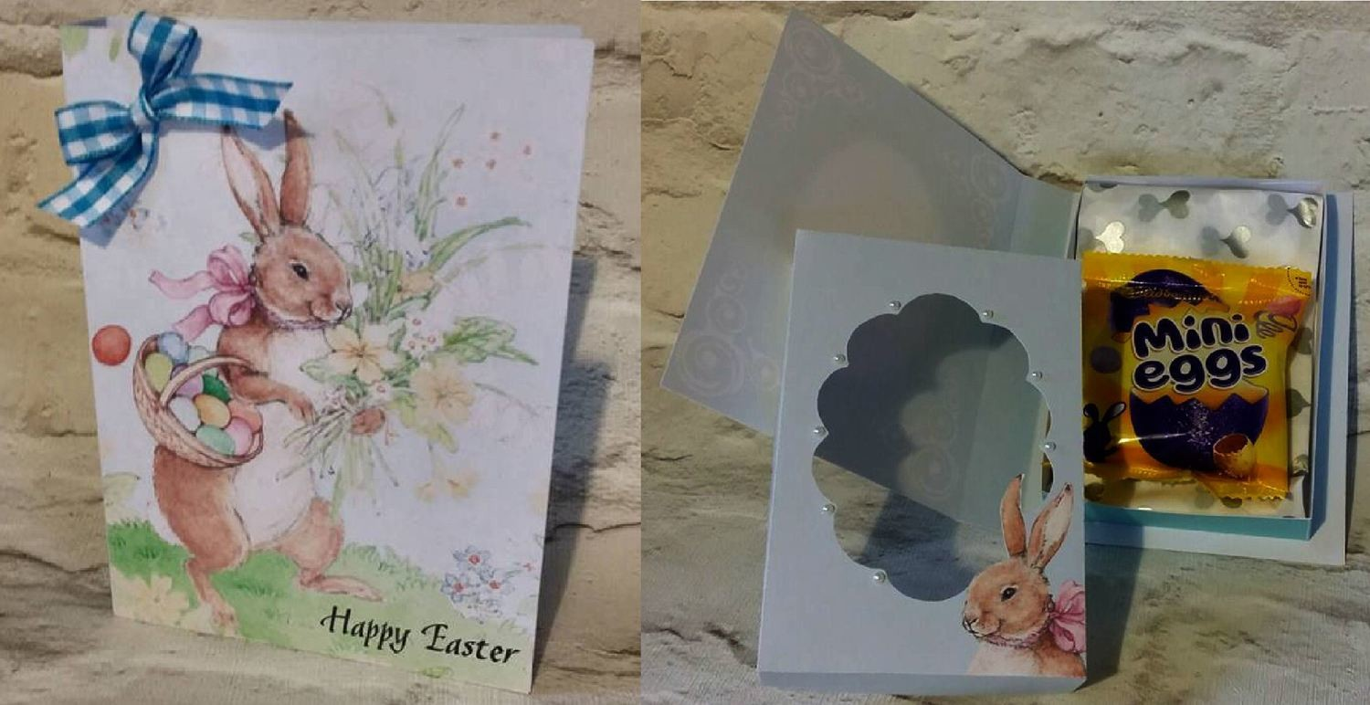 Easter Combi Card/Box  studio format print n cut.