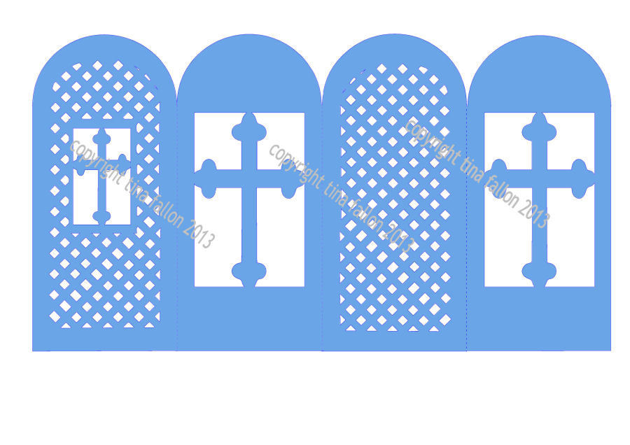 Religious Screen Card No 4 Christening etc