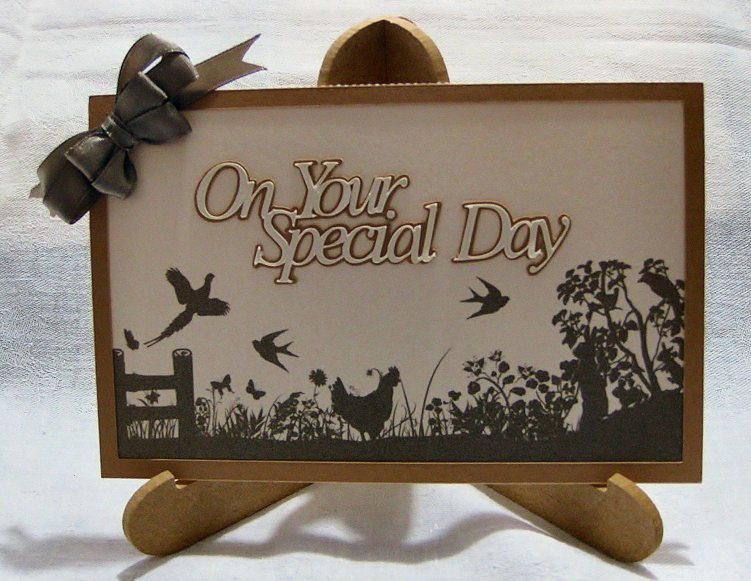 Rustic On Your Special Day - Birthday - Wedding - Anniversary  Print N Cut