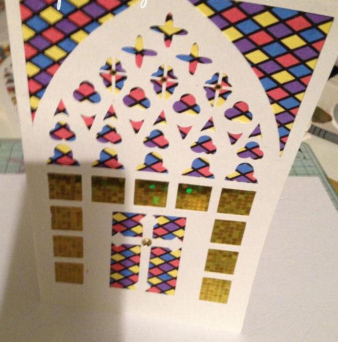 Church Window card No 5