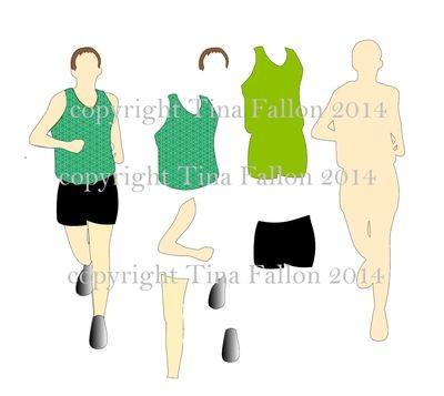 Runner / Athlete / Footballer / Marathon /Cross country etc