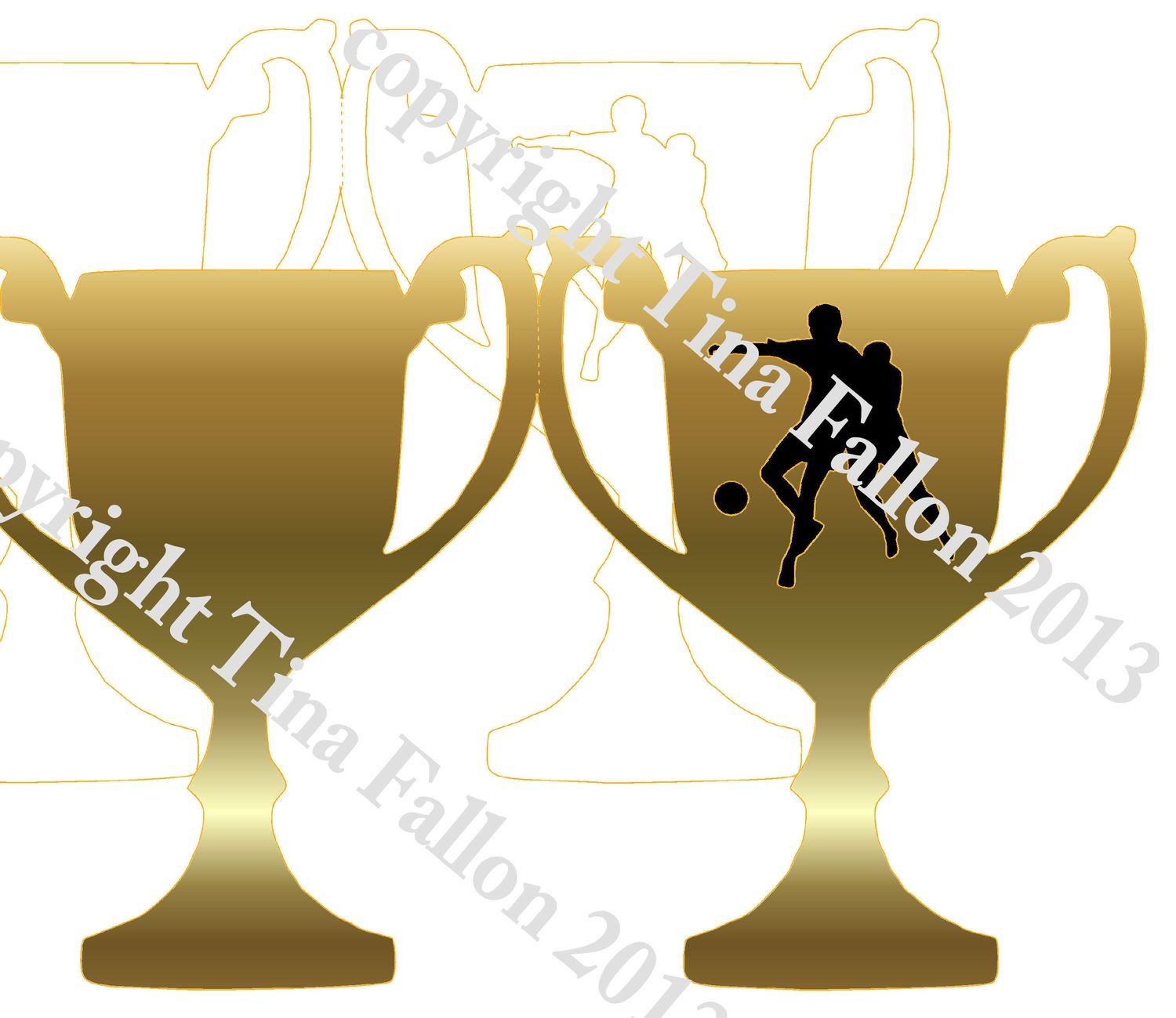 Trophy Card Footballer