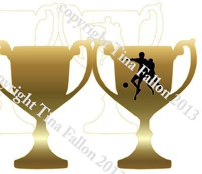 Trophy Card Footballer