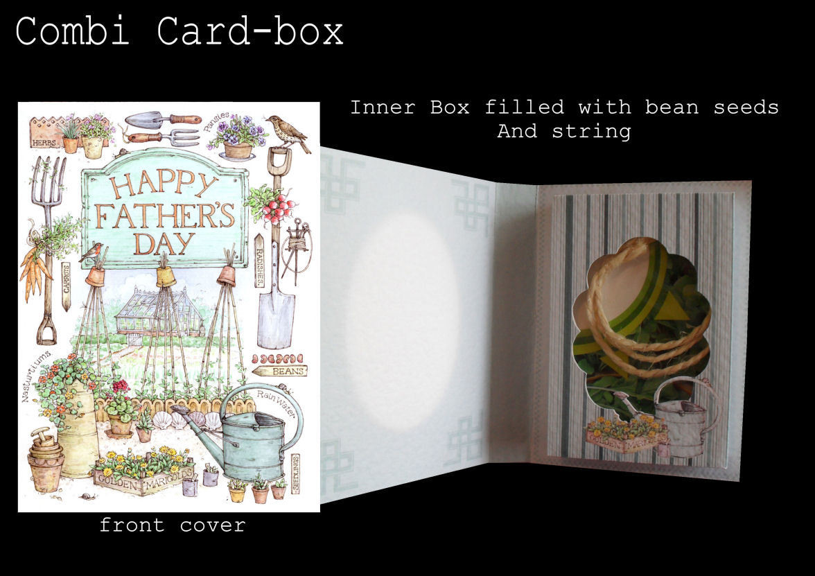 Fathers Day Combined Card-Box PNC