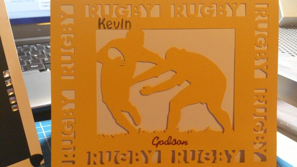 Rugby 1 Card Template