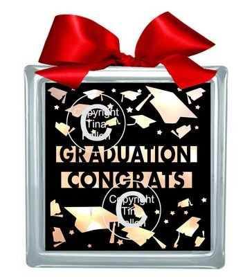 Graduation Congrats for Light box or framing SVG format