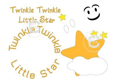Twinkle Twinkle Little Star  SVG
