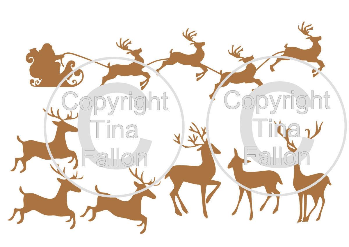 Christmas Mix Set 2 Reindeer