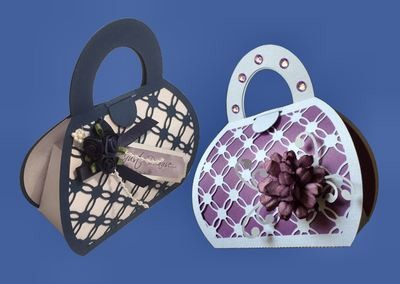 Handbag Gift Bag 1 - Entwined series matches other items