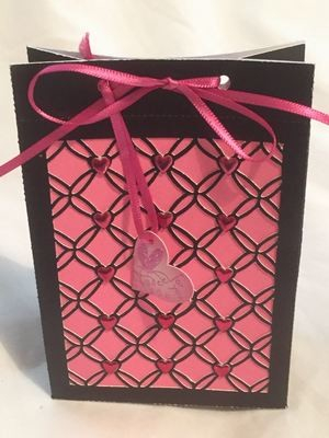 Gift Bag 3 - Entwined HEART  series matches other items