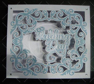 Wedding Card or Gift Box