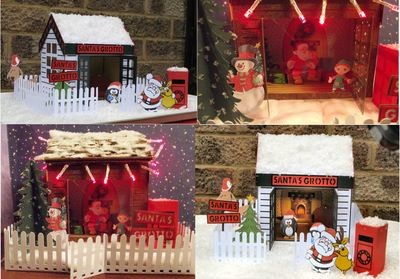 Santa's Grotto Large 3d Model
