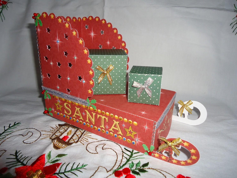 Santa's Sleigh Print n Cut