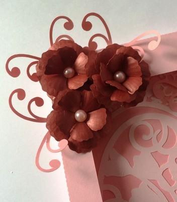 pretty 3d flower - resize to suit   - FCM Scan n cut format