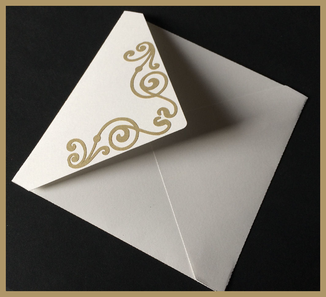 The Bridal Collection -   Envelope to fit square card and gatefold card