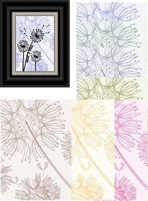 Dandelion A4 Paperpack -