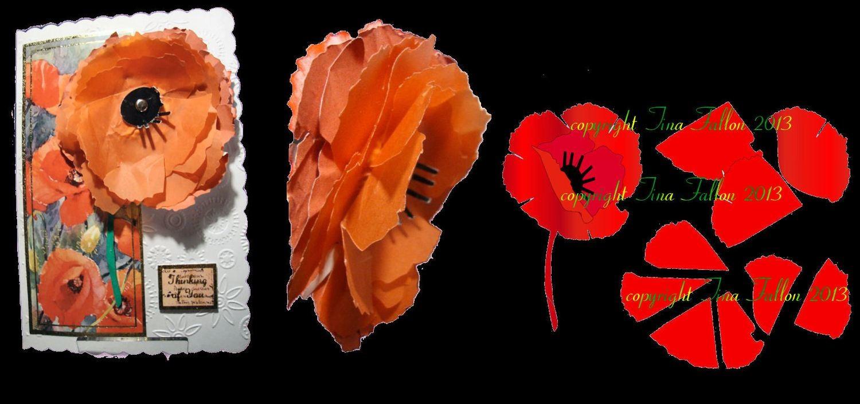 Poppy  3d flower. . Create your own stunning flowers