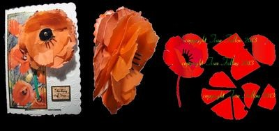 Poppy  3d flower. . Create your own stunning flowers