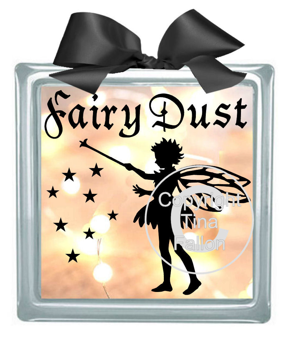 FairyDust - design for vinyl and glass blocks