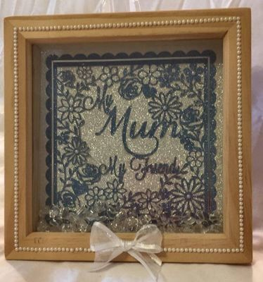 Mum My Friend - decorative frame ideal for Mother's Day.