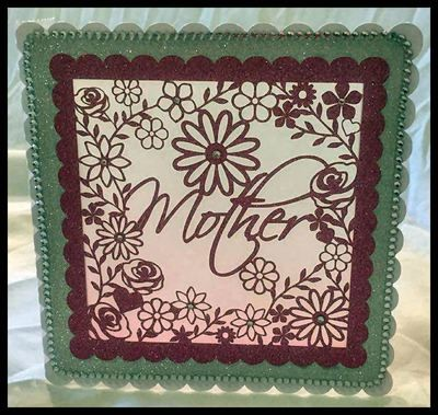 Mother decorative frame ideal for Mother's Day.