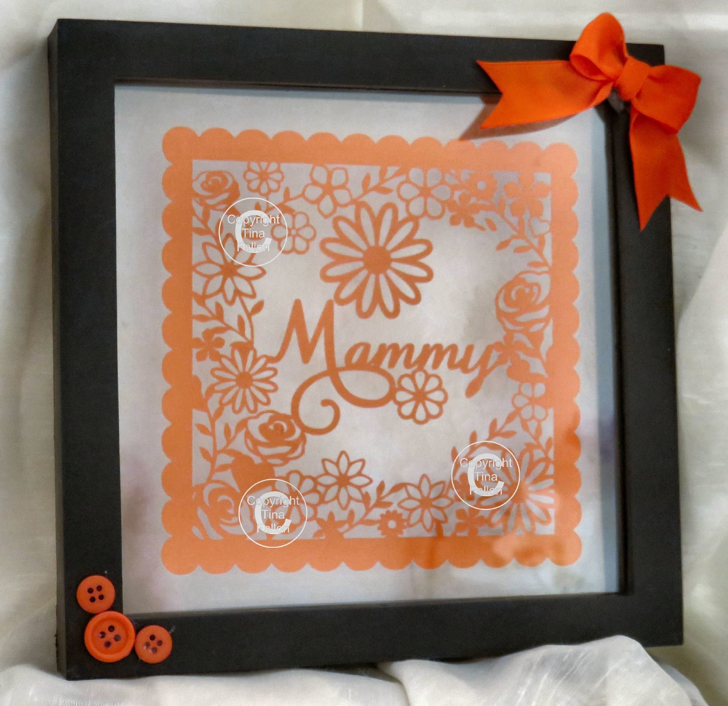 Mammy  decorative  frame ideal for Mother's Day.