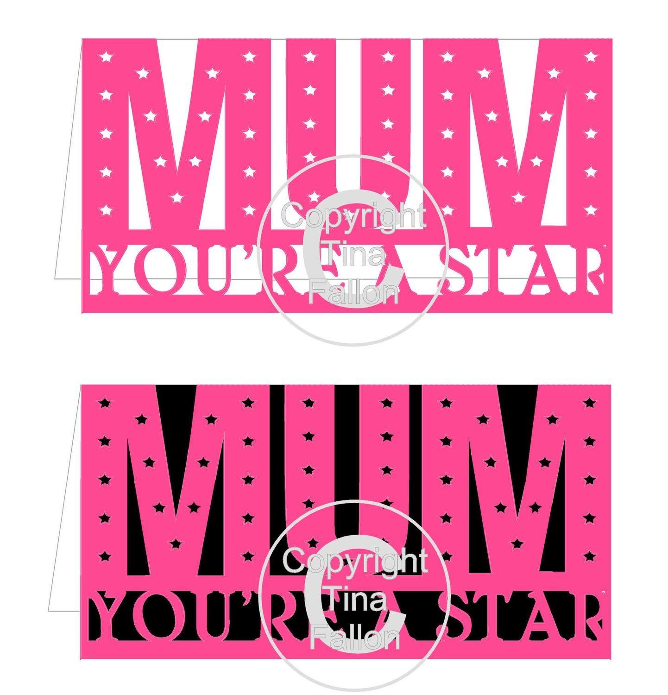 Mum Card Template