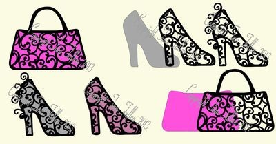 Filigree Topper  - Shoes and Bag