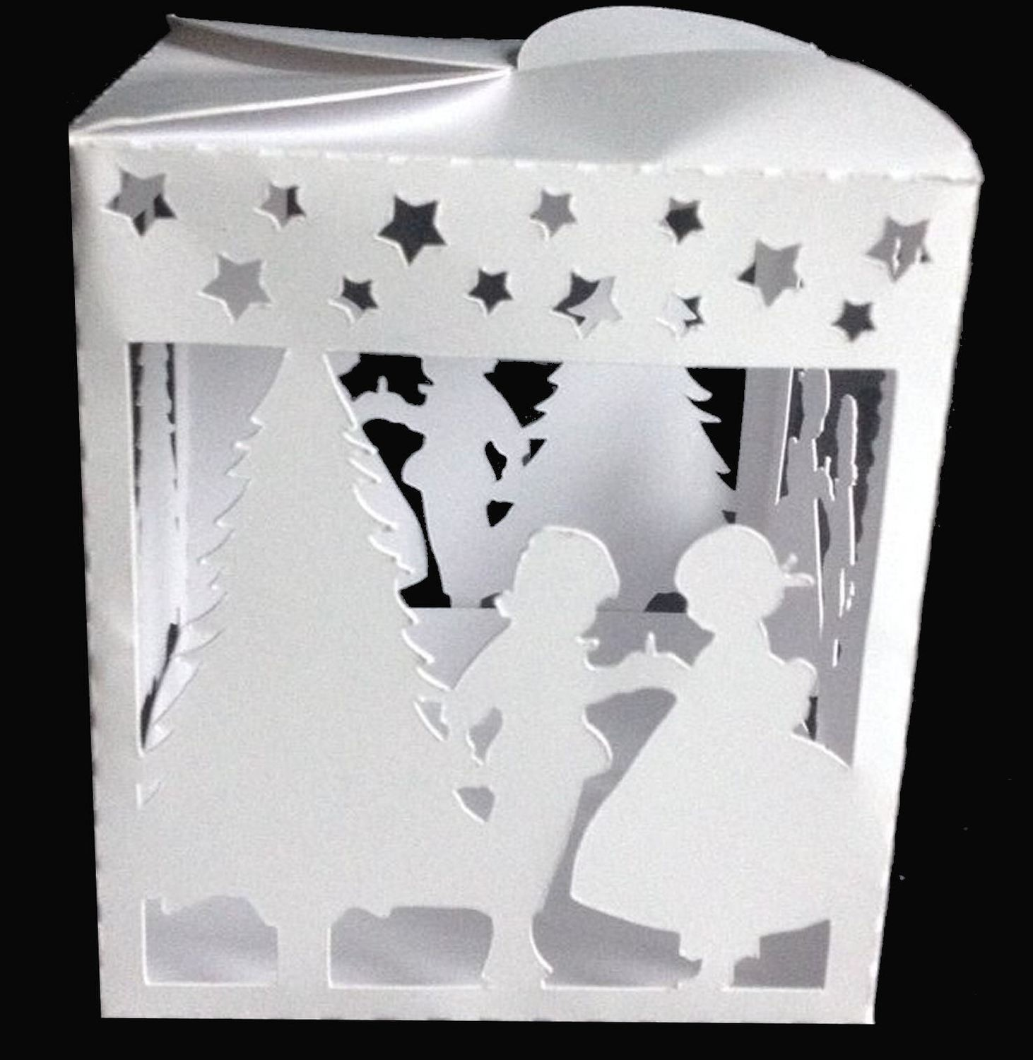 Christmas Eve Luminaire or gift box