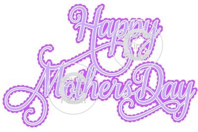 Happy Mothers Day Decorative 4 Layered Topper