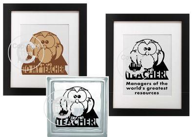 Teacher / Teach  -  2 Owl Files