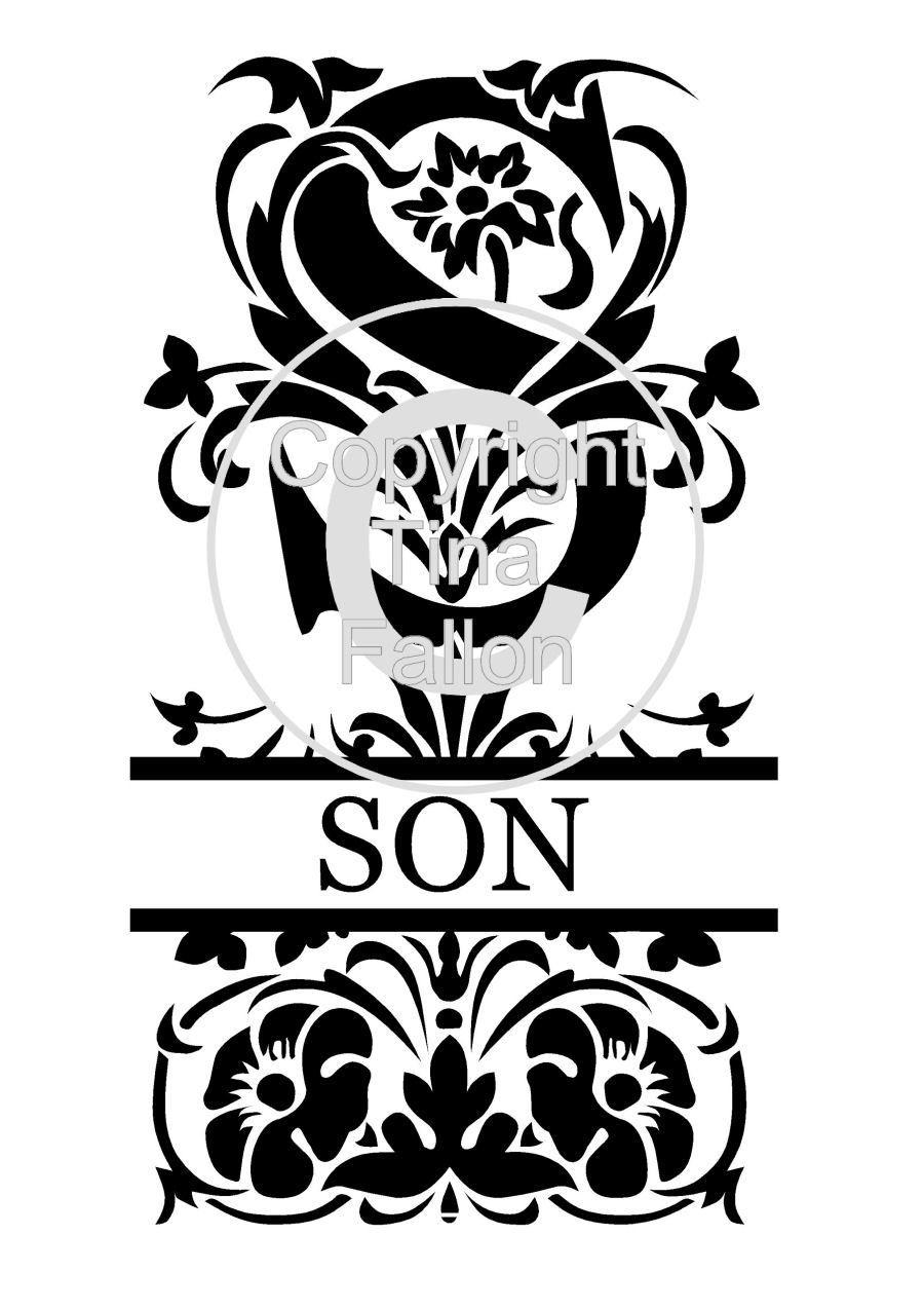 Split Letters - Son