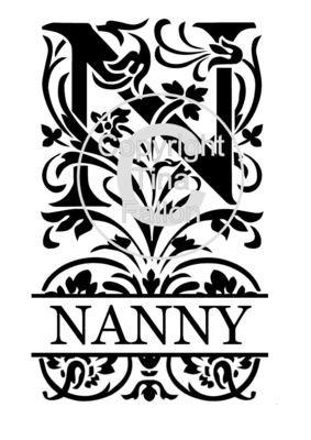 Split Letters - Nanny