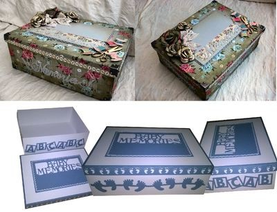 Mix N Match Keepsake Memories Large Box