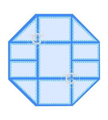 Paper Magic Octagon  - great for scraps