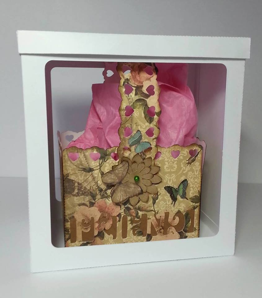FRIEND  Basket - includes a gift box