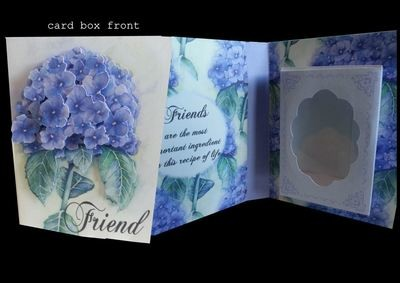 FRIEND Combi Card/Gift Box Friends are the most important ingredient in this recipe of life