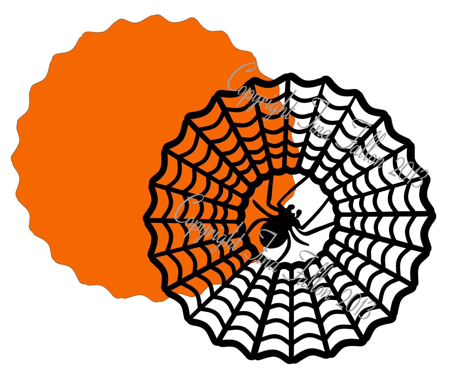 Halloween 9 - design for vinyl , charger plates and glass blocks