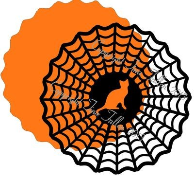 Halloween 7 - design for vinyl , charger plates and glass blocks