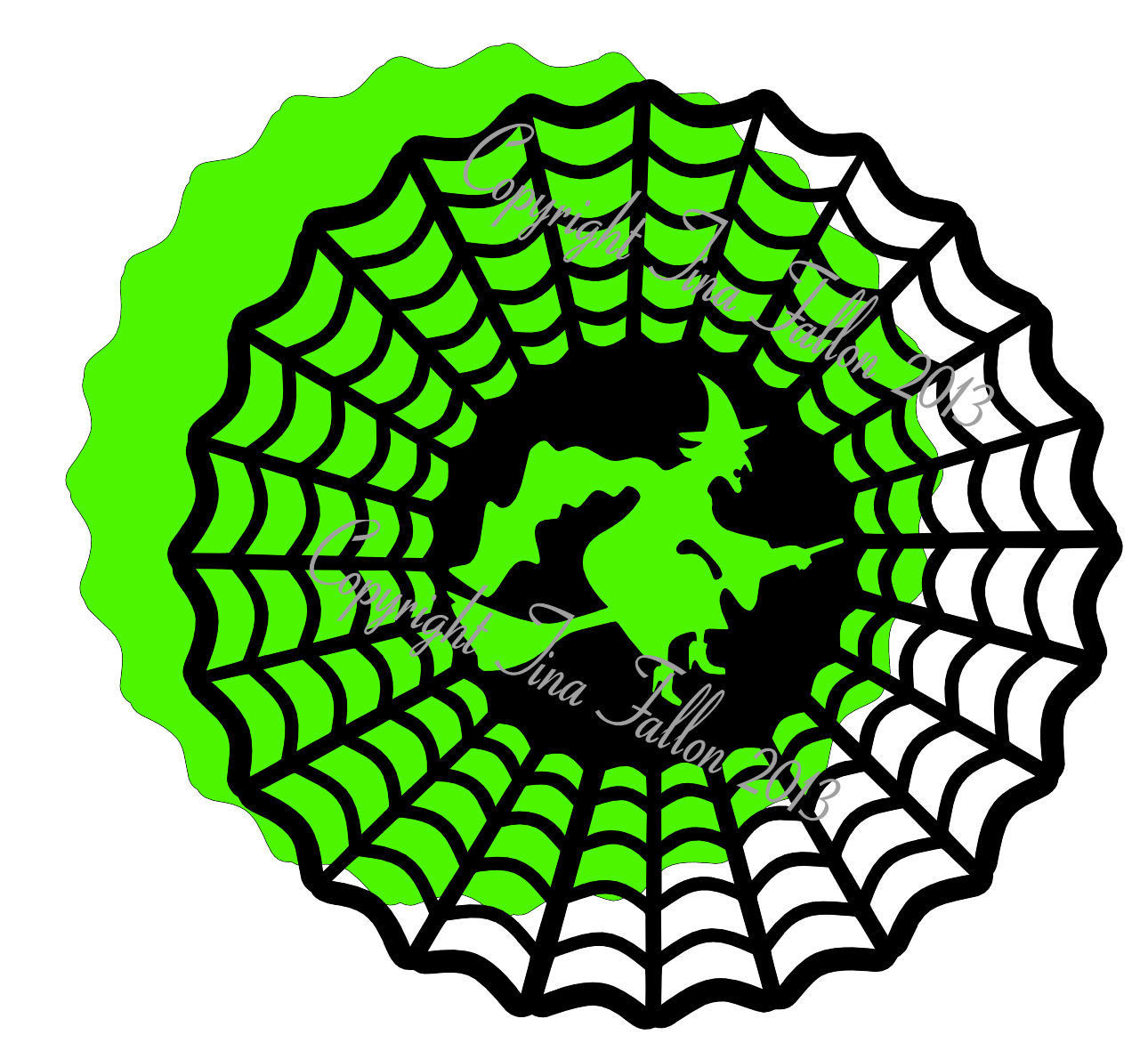 Halloween 5 - design for vinyl , charger plates and glass blocks