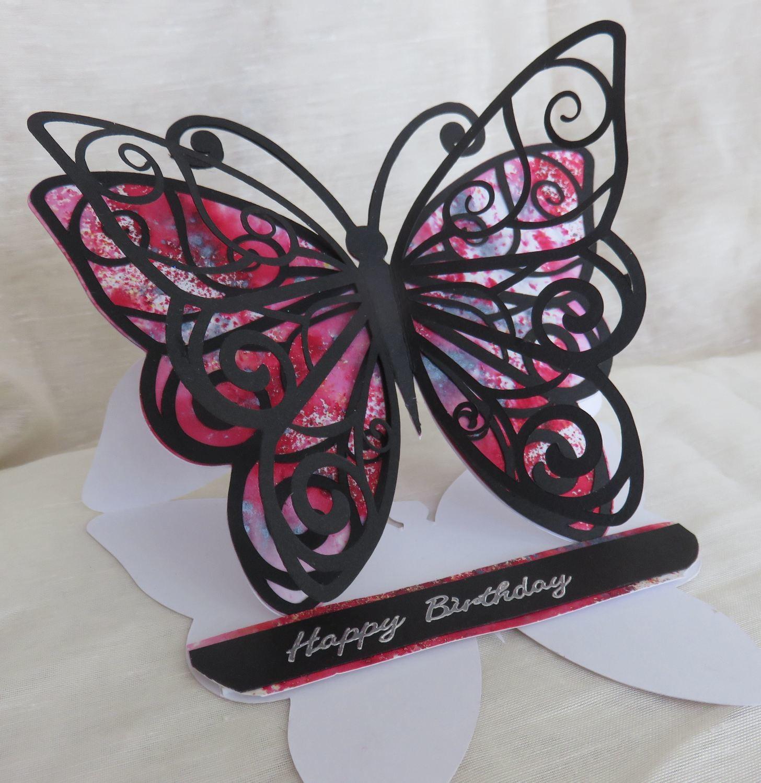 Butterfly Card .