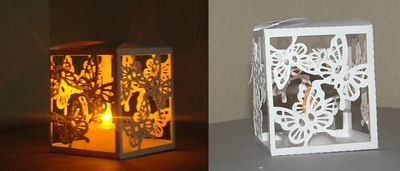 Butterfly Trio Luminaire / Gift Box