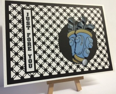 Simply Entwined A4 Frame / Topper /Emboss Engrave