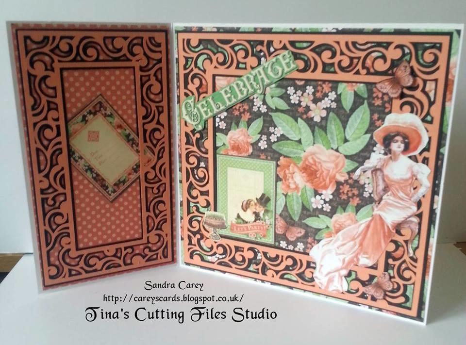 Twirly Frame Design Set  -  Frames set of 2