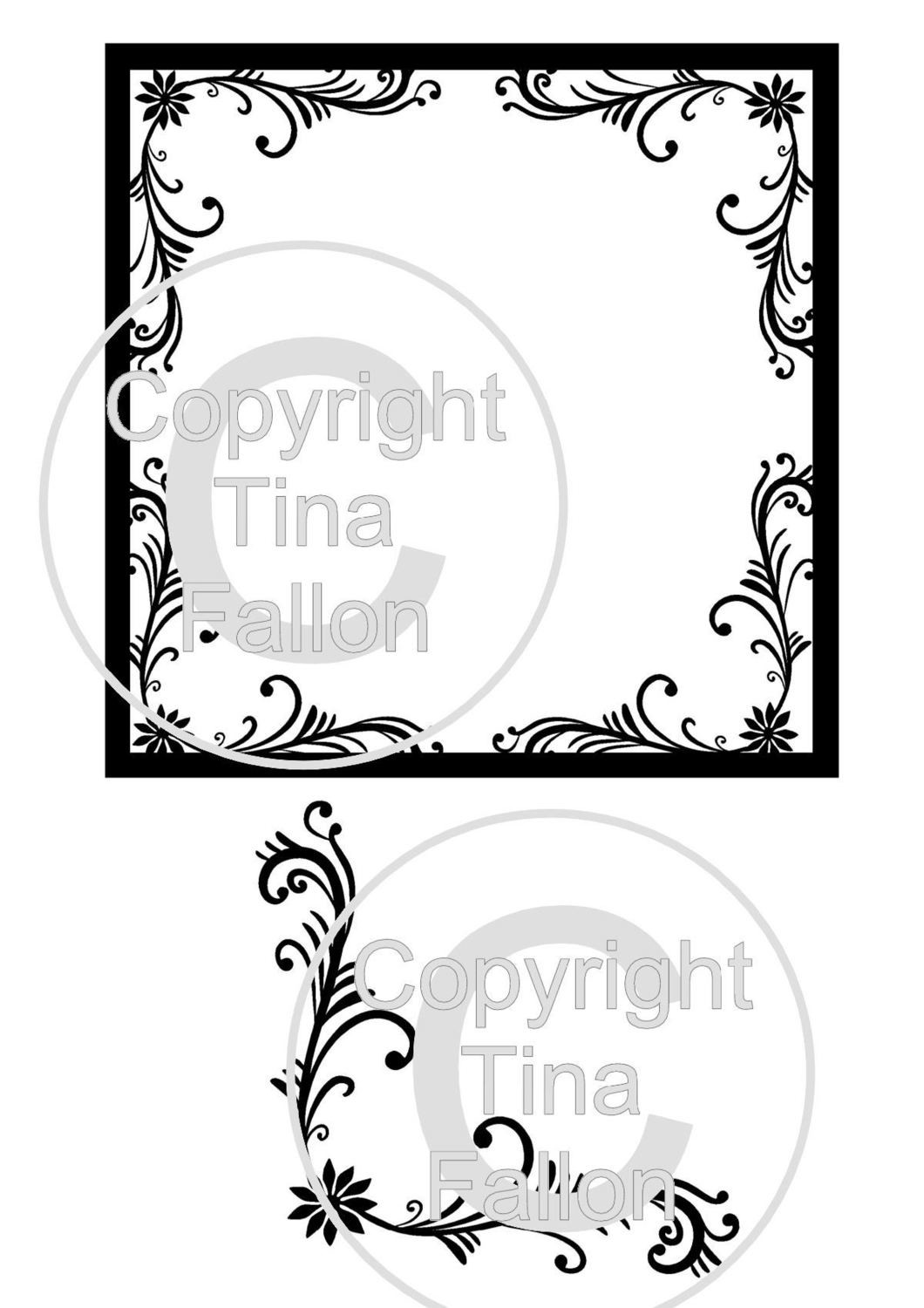Flourish and Flourish Frame