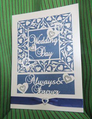 Wedding Day Keepsake A4.