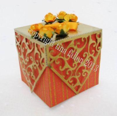 Filigree edged box