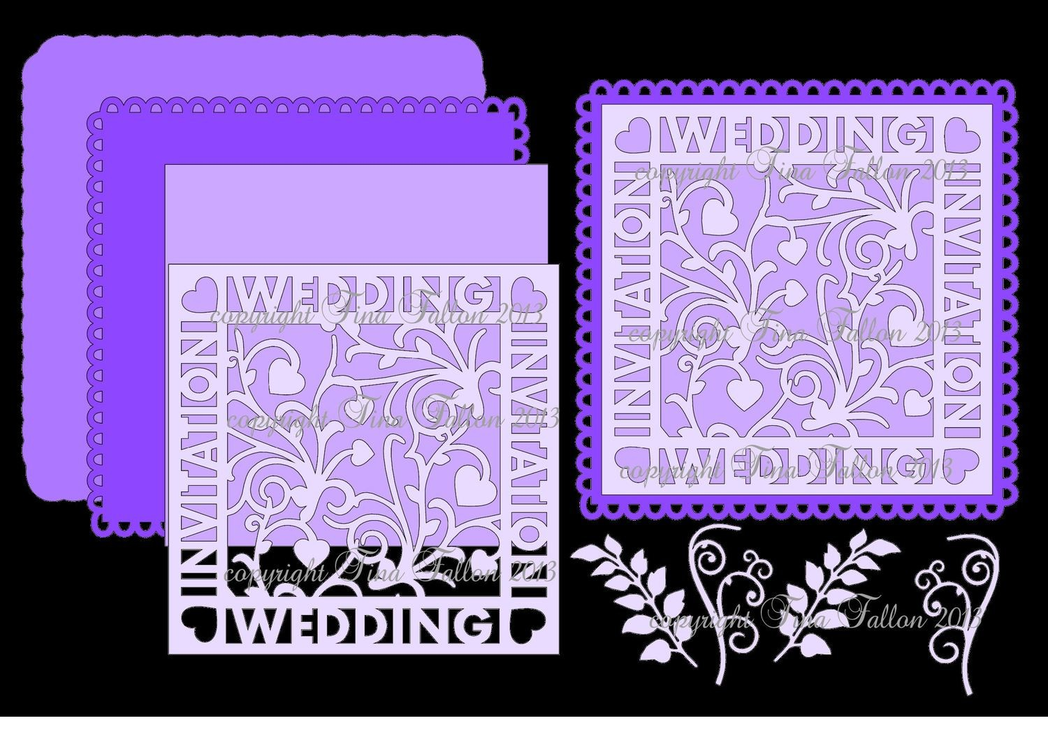 Wedding Invitation Occasion Topper